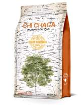 Premium Chaga Mushroom Turmeric Powder - 8 oz of Authentic 100% Wild Harvested Canadian Chaga Tea - Superfood