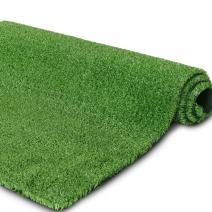 """Synthetic Artificial Grass Turf for Garden Backyard Patio Balcony,Drainage Holes & Rubber Backing, Indoor Outdoor Faux Grass Astro Rug Carpet,DIY Decorations (6 FTX 20FT, 0.4"""" Pile Height)"""