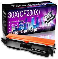 Cuxwill with Chip Compatible Toner Cartridge Replacement for HP 30X CF230X to use with Laserjet Pro M203dw M227fdw M227fdn M203d M203dn M227sdn M227 M203 Printer (High Yield, Black)