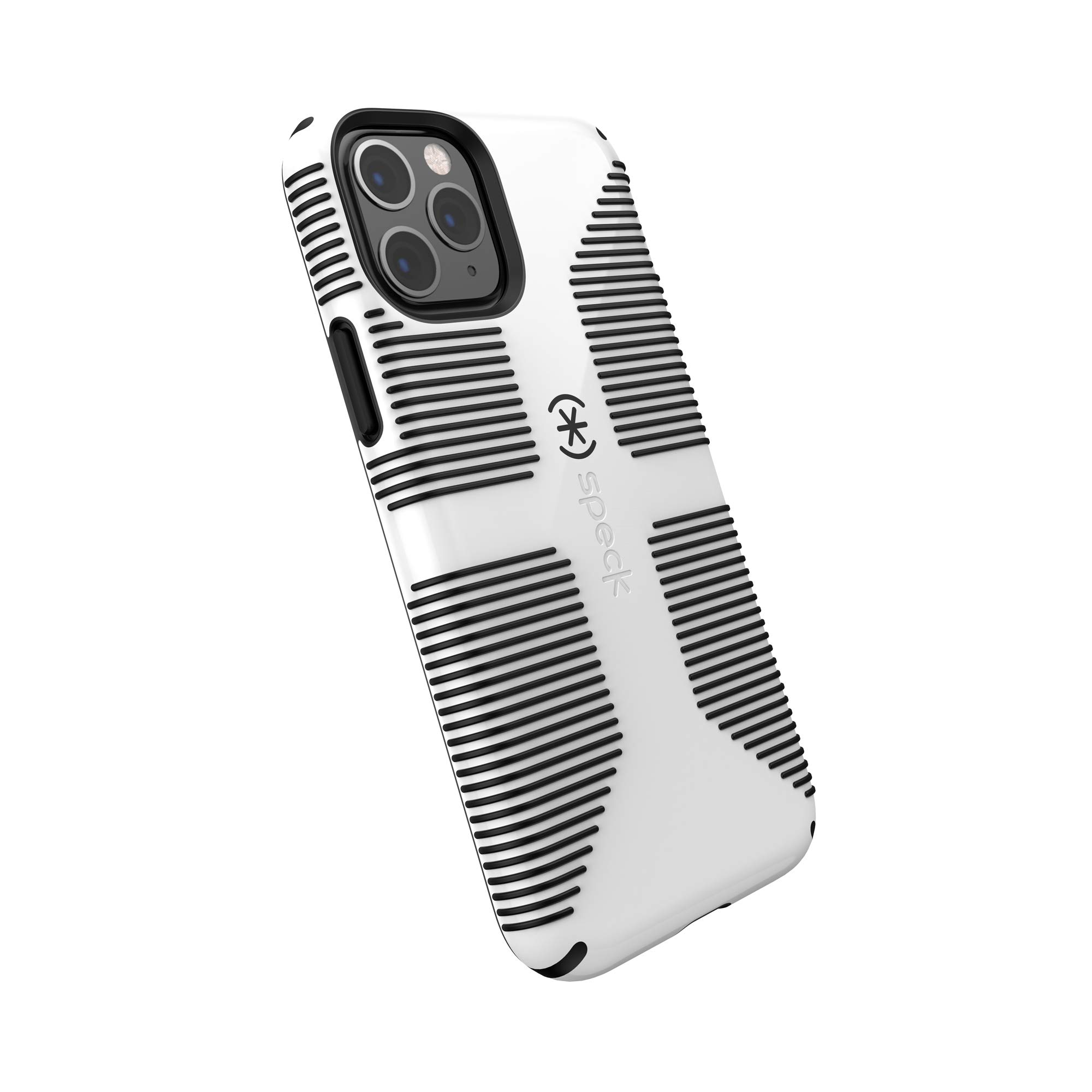 Speck CandyShell Grip iPhone 11 Pro Case, White/Black