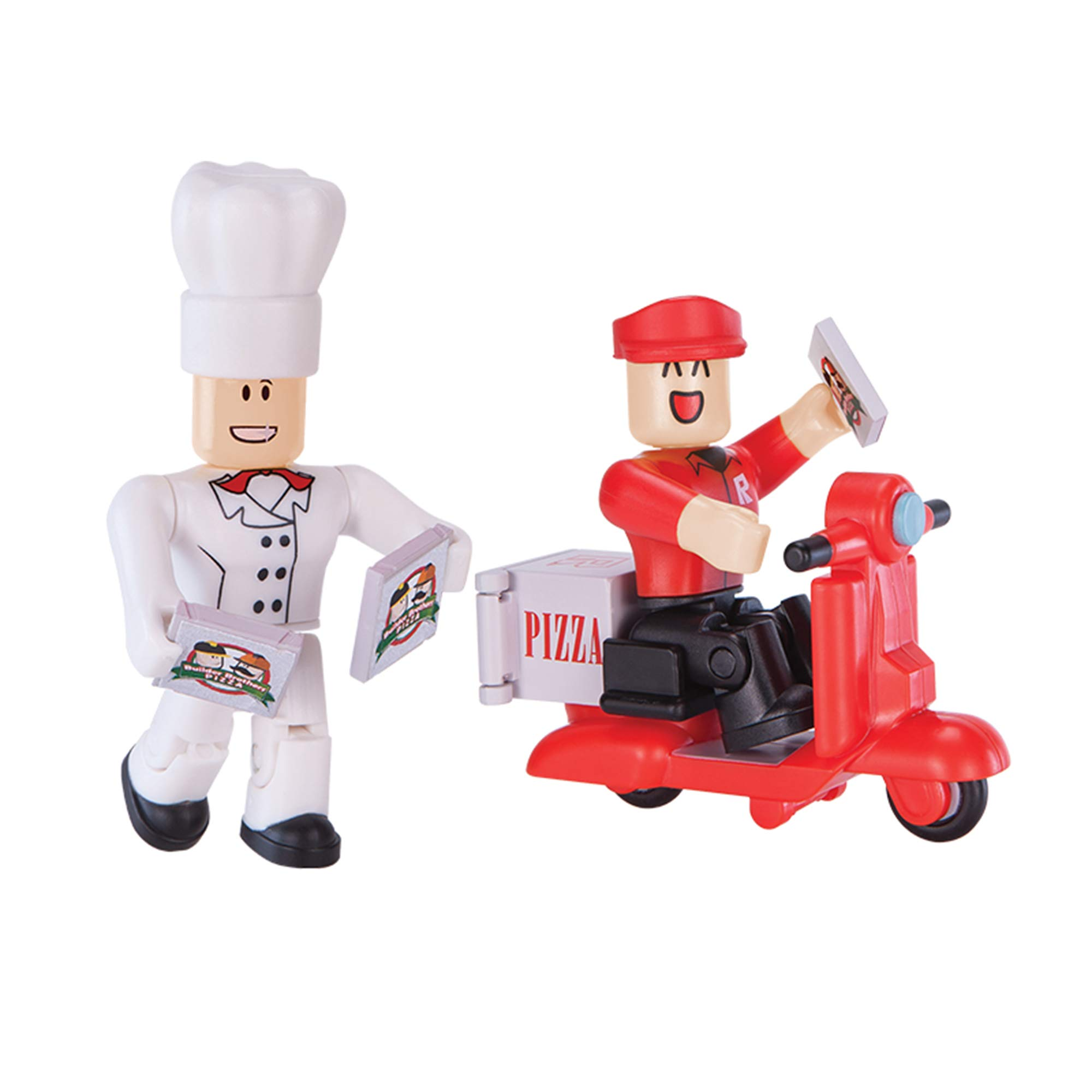 Roblox Action Collection - Work at a Pizza Place Game Pack [Includes Exclusive Virtual Item]