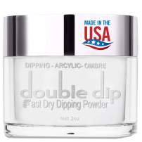 Dip Powder Clear Color (2oz) for French Nail Acrylic Manicure Nail Art, Non-Toxic & Odor-Free, without UV LED Lamp Cured, Long Lasting