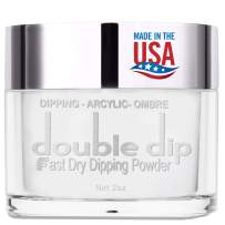 Acrylic Powder Crystal Clear Professional 2 Oz_ Dual Systems 2 in 1 Acrylic & Dip NO BUBBLES GUARANTEED_ Nail Extension Acrylic powder_ No Need UV_LED Lamp, Easily Apply, Fast Dry Powder