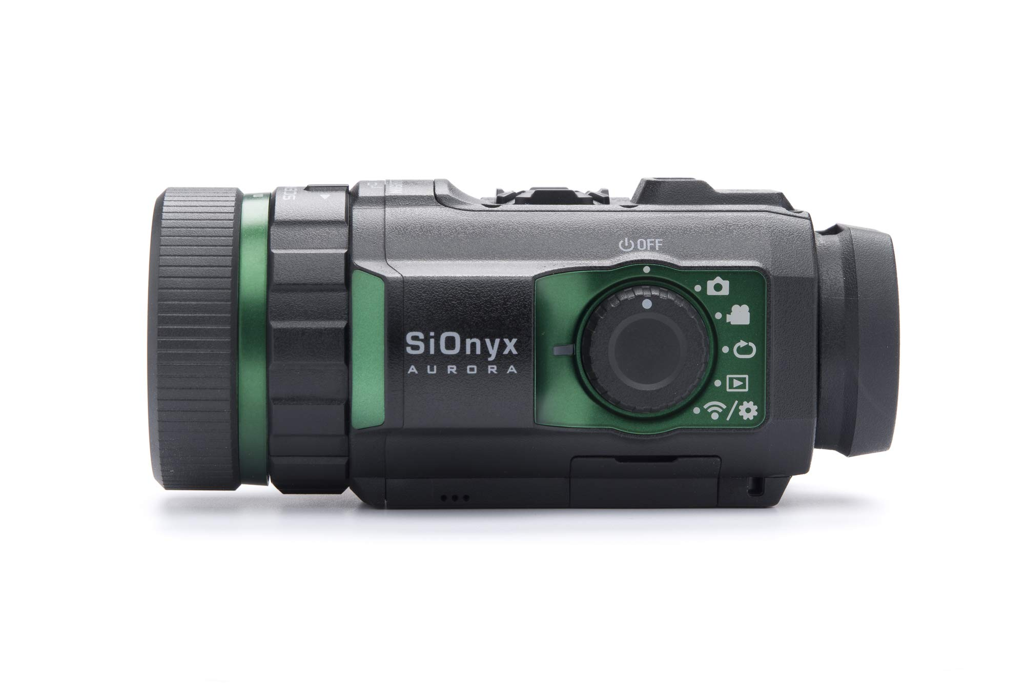 SiOnyx Aurora I Full-Color Digital Night Vision Camera I Ultra Low-Light IR Sensor Technology I Weapon Rated, Water Resistant, WiFi, Compass & GPS Capable. Infrared Night Vision Monocular.