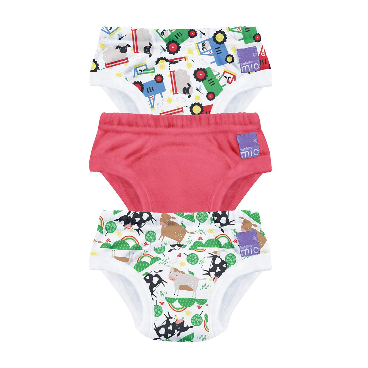 Bambino Mio Bambino Mio, Potty Training Pants, Farmer Friends, 3+ Years, 3 Pack