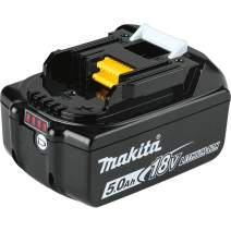 Makita BL1850B 18V LXT Lithium-Ion 5.0Ah Battery, 1-Pack