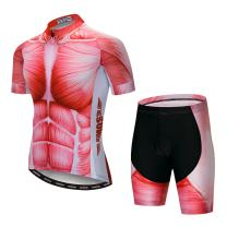 JPOJPO Cycling Jersey Men, Mountain Bike Shirt Tops S-5XL - Breathable and Quick Dry