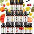 Top 15 Fruit Essential Oil Set 10ml, Aromatherapy 100% Pure Essential Oil (Grapefruit, Coconut, Peach, Strawberry, Mango, Apple, Watermelon, Orange, Lemon, Cherry, Pineapple, Blueberry, Grape, etc.)