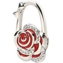 LUXUR Foldable Purse Holder For Tables Metal Folding Handbag Hanger For Women Purse Hook For Table Desk Gift For Women