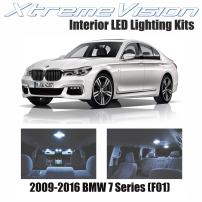 XtremeVision Interior LED for BMW 7 Series (F01) 2009-2016 (12 Pieces) Cool White Interior LED Kit + Installation Tool