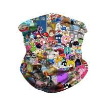 Unisex Multifunctional Seamless Outdoor Face Mask Neck Gaiter Tube Mask Headwear