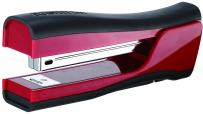 Bostitch Dynamo 4 in 1 Standup Stapler with Intergrated Pencil Sharpener, Staple Remover & Stapler Storage, Red (B696-RED)