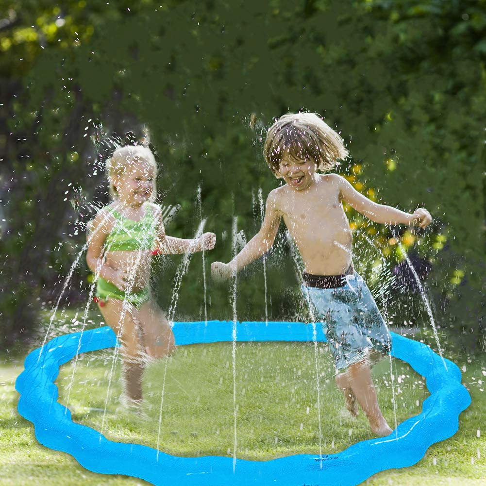 """DX DA XIN Sprinkler for Toddlers & Kids, 68"""" Inflatable Sprinkle and Splash Water Play Outdoor Toys Lawn Garden Backyard Swimming Party Pool Play Toy"""