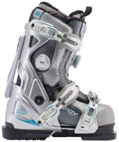 Apex Ski Boots Blanca All Mountain Ski Boots (Women's Sizes 23-28) Walkable Ski Boot System with Open-Chassis Frame for Intermediate/Advanced Skiers