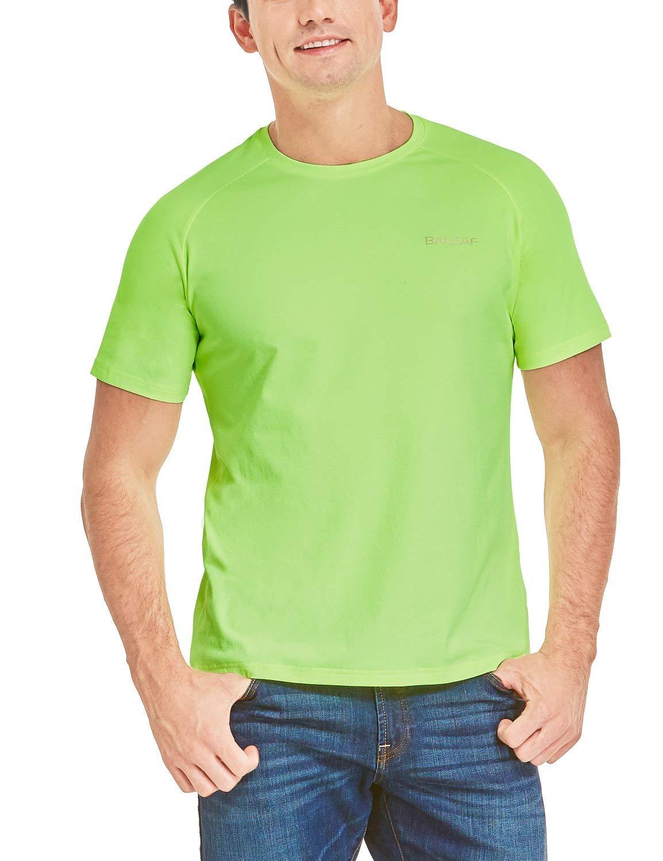 BALEAF Men's Long Sleeve Shirts Running Workout Athletic T-Shirts Dri Fit Lightweight UPF 50+ SPF Fishing Hiking