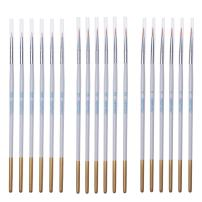 MEEDEN Detail Paint Brush Set - 18 Miniature Art Brushes for Fine Detailing & Art Painting - Acrylic, Watercolor, Oil - Miniatures, Models, Airplane Kits, Nail