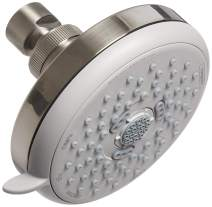 hansgrohe 04733820 Croma 100 1.8 GPM 3-Jet Showerhead E, Brushed Nickel