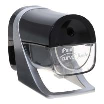 Westcott iPoint Curve Axis Electric Heavy Duty Pencil Sharpener, Case of 12 (15512)
