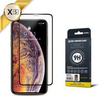GPEL Screen Protector for iPhone Xs/iPhone 11 Pro Compatible Real Tempered Glass Case-Friendly Work with Most Case [HD Clarity] 9H Hardness 99% Touch Accurate