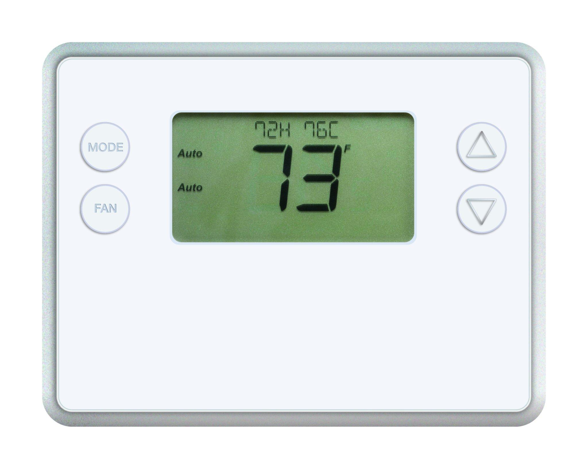 GoControl Z-Wave Battery-Powered Smart Thermostat