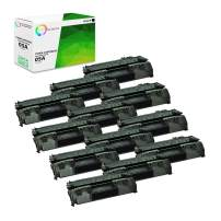 TCT Premium Compatible Toner Cartridge Replacement for HP 05A CE505A Black Works with HP Laserjet P2030 P2035 P2035N P2050 P2055D P2055DN P2055X Printers (2,300 Pages) - 12 Pack