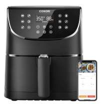 COSORI Smart WiFi Air Fryer 5.8QT(100 Recipes), 1700-Watt Programmable Base for Air Frying, Roasting & Keep Warm 11 Cooking Preset,Preheat&Shake Remind,Digital Touchscreen,Works with Alexa