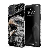 BURGA Phone Case Compatible with iPhone 11 - Bird of JOVE Savage Wild Eagle Cute Case for Women Thin Design Durable Hard Plastic Protective Case