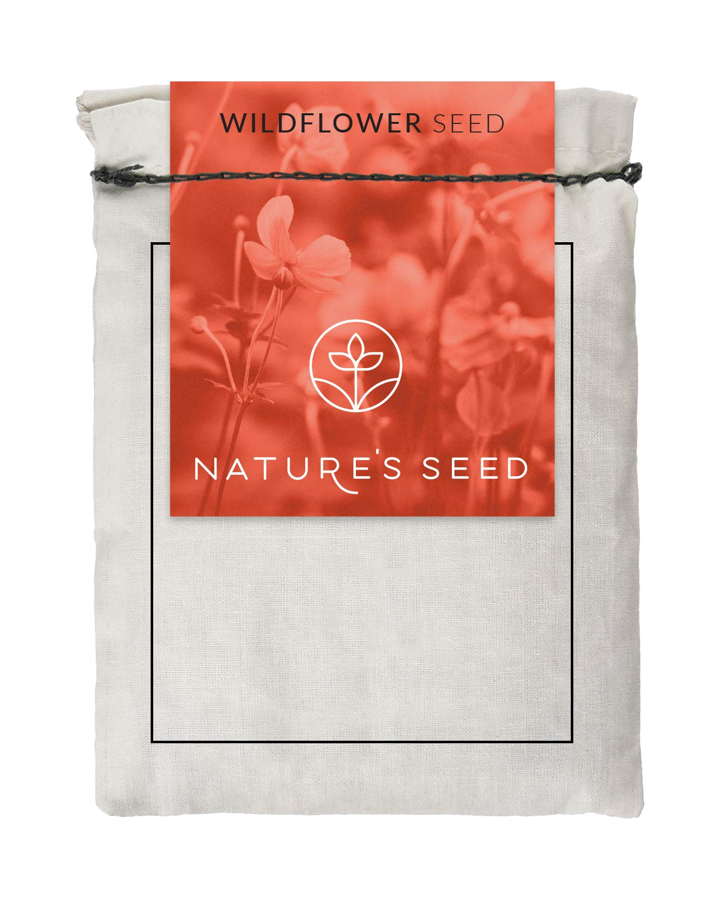 Nature's Seed WB-CA-1000-F California Blend Wildflower Seeds, 1000 sq.', Brown/A