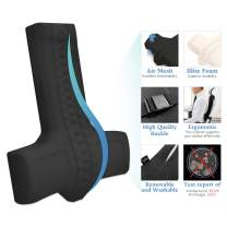 Balancecord Chiropractic Memory Foam Back Cushion with Orthopedic Design Great for Office Computer Chair Lumbar Support Pillow for Back Pain
