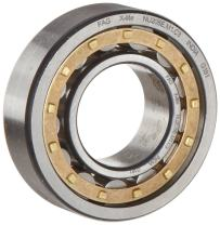 FAG NU2212E-M1-C3 Cylindrical Roller Bearing, Single Row, Straight Bore, Removable Inner Ring, High Capacity, Brass Cage, C3 Clearance, 60mm ID, 110mm OD, 28mm Width