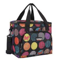 HOMESPON Cooler Bag Insulated Lunch Bag Cooler Lunch Container Thermal Cooler Pack Lunch Box Picnic Bag Cooler Tote Bag-10L(Dot Print)