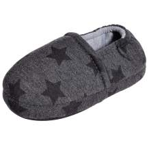 MIXIN Little Kids Boys Indoor House Slippers with Memory Foam