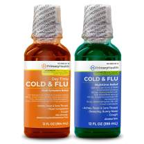 Primary Health Cold & Flu Day Time & Nighttime Relief Combo, 24 Oz.
