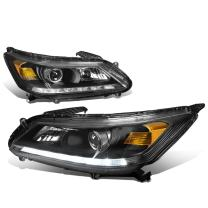 DNA Motoring LED DRL Front Bumper Headlight/Lamps Replacement