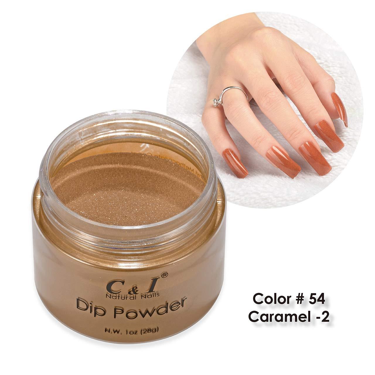 C & I Dip Powder Caramel Color Series (Caramel-2)