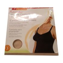 Ameda Intimates Nursing Camisole Size 3, Tan, Machine-Washable Microfiber Nursing Bra, Drop-Cup Design for One-Handed Open & Close, No Seams or Underwire for Maximum Comfort