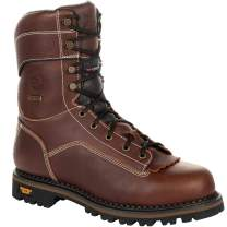 Georgia Boot AMP LT Logger Waterproof 400G Insulated Work Boot