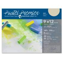 Speedball Art Products Premier Sanded Pastel Paper, 9 x 12, Buff 8 Sheets