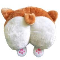 Toydaze Corgi Butt Pillow as Joke Gift for Corgi Lovers, Corgi Plush Pillow for Lower Back Support When in Work or Study, Corgi Stuffed Animal as Birthday|Valentine's Day|Easter|Mother's Day Present