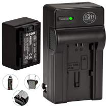 BM Premium BP-718 Battery and Charger for Canon Vixia HFR80, HFR82, HFR800, HFM50, HFM52, HFM500, HFR30, HFR32, HFR300, HFR40, HFR42, HFR400, HFR50, HFR52, HFR500, HFR60, HFR62, HFR600, HFR70, HFR72, HFR700