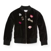 The Children's Place Big Girls' Bomber Jacket with Patches