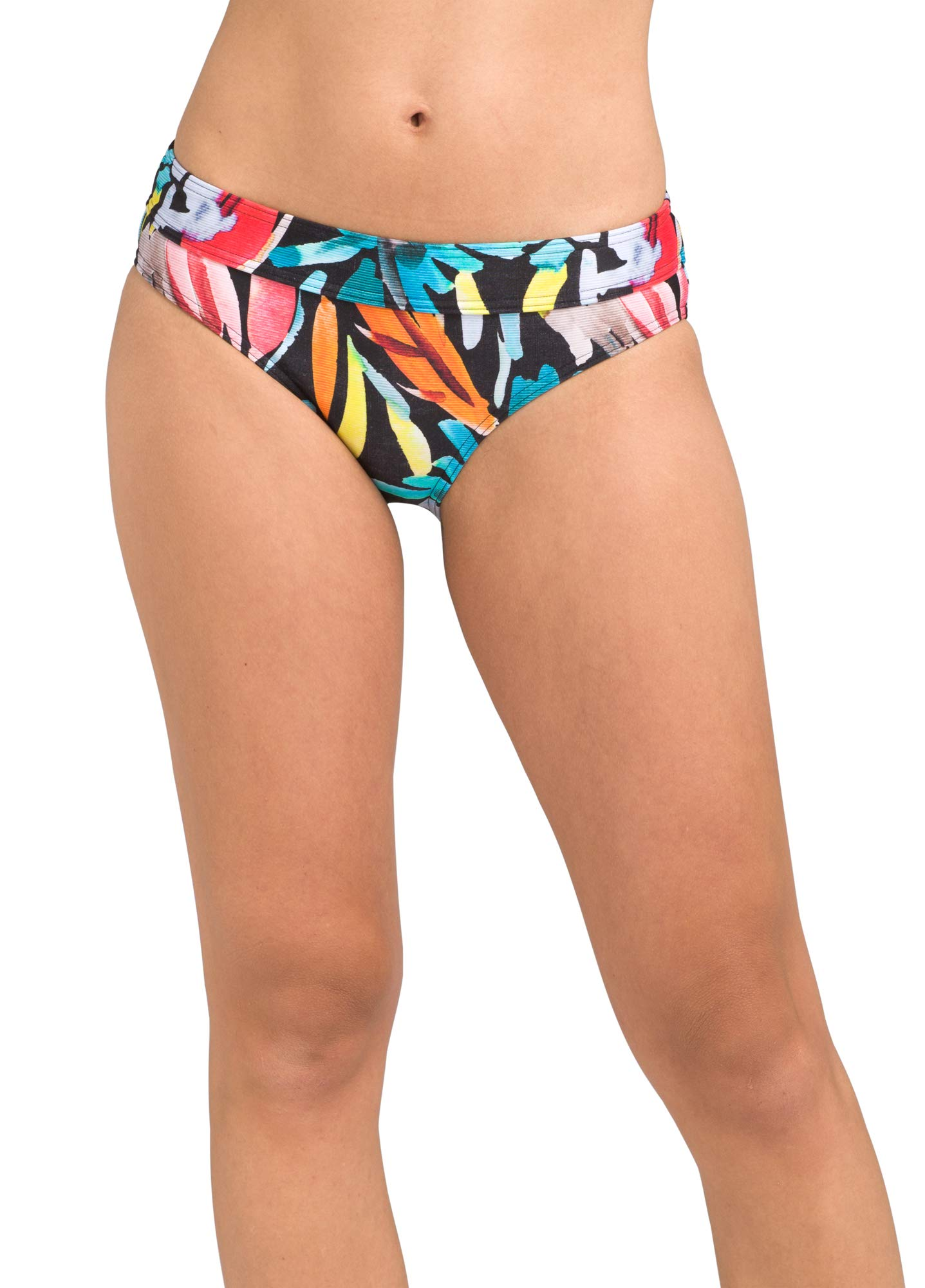 prAna - Women's Ramba Swim Bottoms, Hipster Briefs with Thick Elastic Band