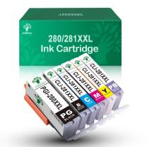 GREENSKY Compatible Ink Cartridge Replacement for Canon 280 281 Replacement PGI-280XXL CLI-281XXL PGI 280 XXL CLI 281 XXL PIXMA TR7520 TR8520 TS9120 TS6120 TS8120 TS8220 TS9520 TS9521C Printer - 6Pack