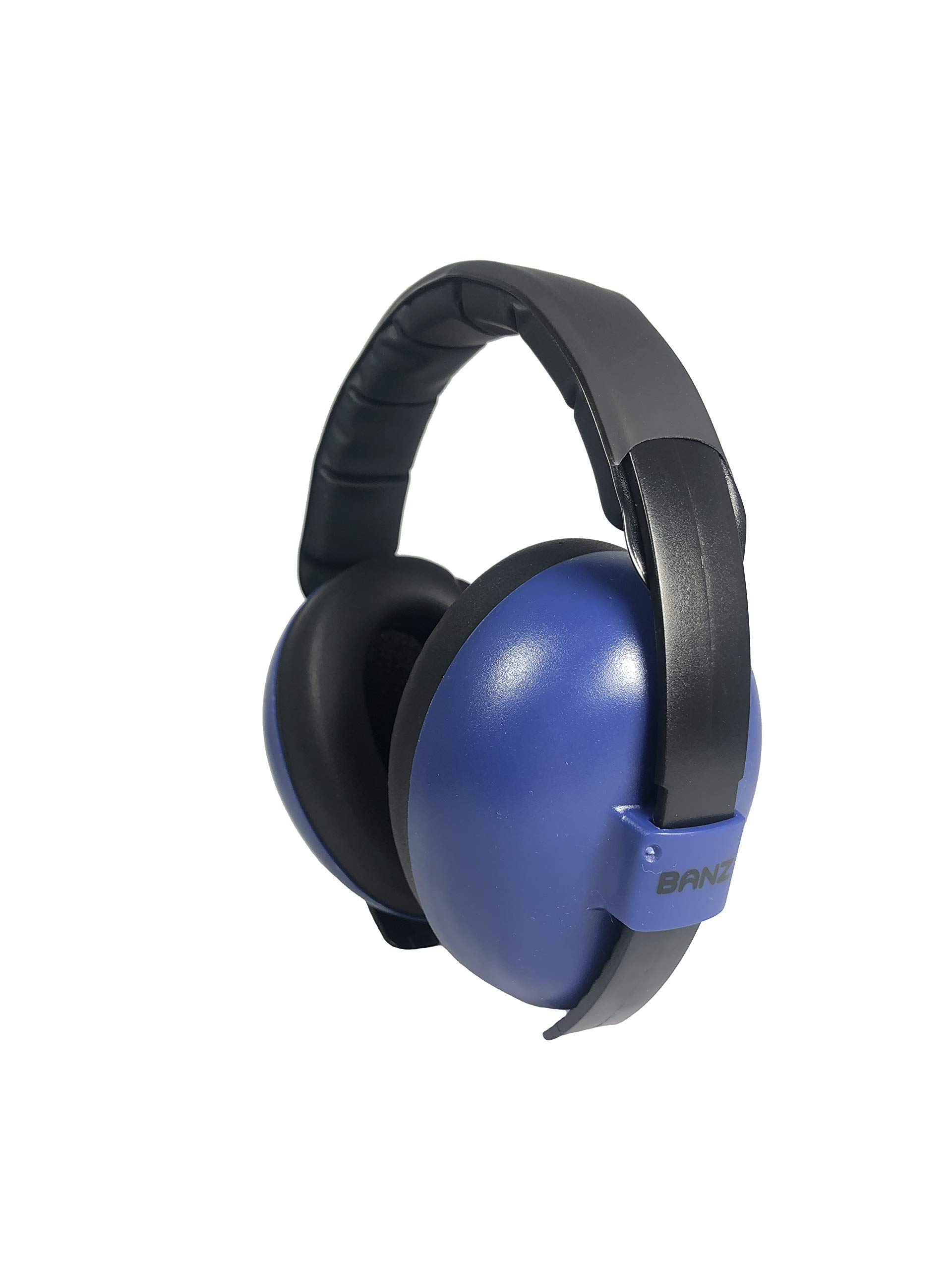 Baby Banz Earmuffs Ear Protection – The Original Infant & Toddler Hearing Headphones – The Best Design for Ages 0-2 Years – Industry Leading Noise Reduction Rating – Block Sound – Fireworks (Navy)
