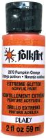 FolkArt Acrylic Paint in Assorted Colors (2 oz), 2878, Pumpkin Orange