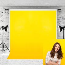 Kate 8x8ft Pure Yellow Backdrop for Photography Solid Photographer Photo Background Prop Portrait Studio