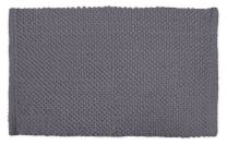 """DII Ultra Soft Plush Spa Cotton Pebble Absorbent Chenille Bath Mat Place in Front of Shower, Vanity, Bath Tub, Sink, and Toilet, 21 x 34"""" - Gray"""