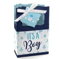 It's a Boy - Blue Baby Shower Favor Boxes - Set of 12