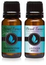 Pair (2) - Lavender Breeze & Frankincense & Rain - Premium Fragrance Oil Pair - 10ML
