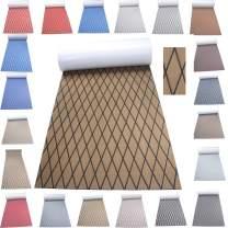 Haiping Line High-end Latest Products Self Adhesive EVA Foam Faux Teak decking Decorative Cushions Boat Floor Non-Slip mat Boat Flooring